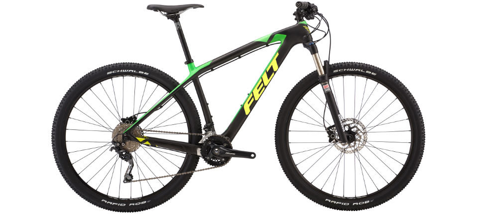 Felt Nine 5 2017 Mountain Bike Internal Matte Carbon 2017 Bbgcb13 000016